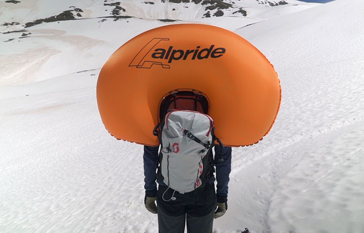 Video: Mochila antiavalanchas Scott Backcountry Patrol Alpride E1 con Supercondensadores