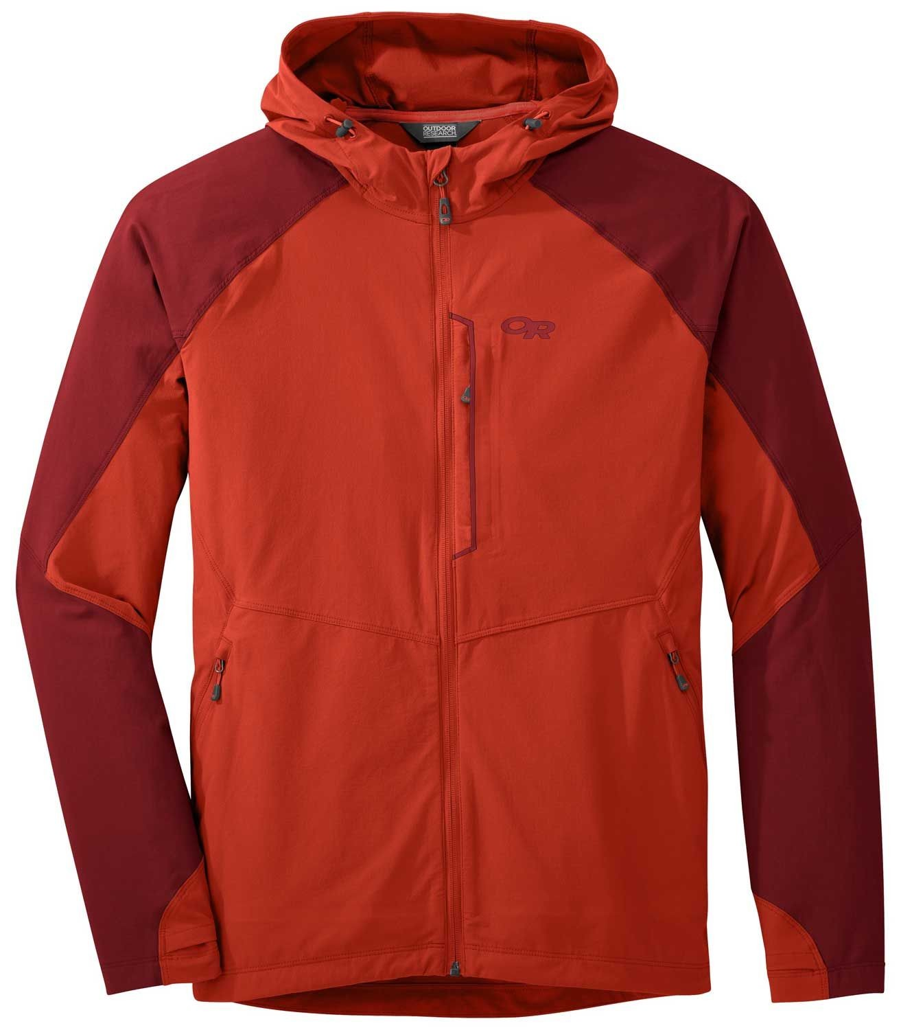 Outdoor Research Ferrosi Jacket, softshell 3 estaciones perfecto para escalada, montaña, trekking