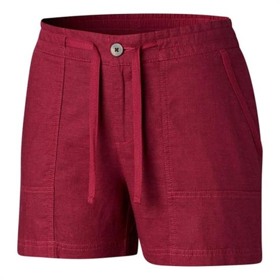Columbia Summer Time Short W - Wine Berry