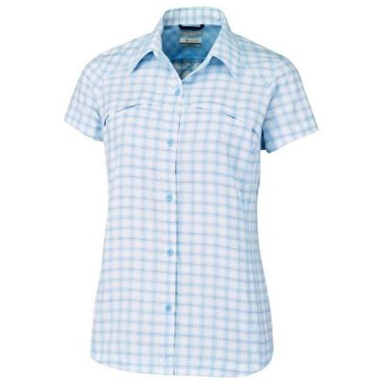 Columbia Silver Ridge Multi Plaid Shirt - Sail
