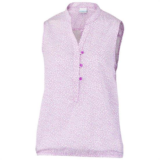 Columbia Early Tide Tank Bright - Lavender Print