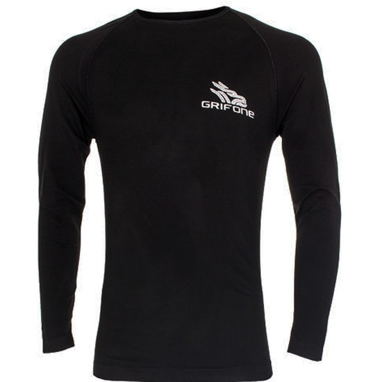 Grifone Bailey T-Shirt LS - Black