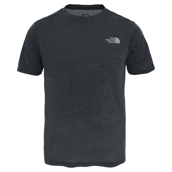 The North Face Reaxion Tee Jr - Dark Grey Heather