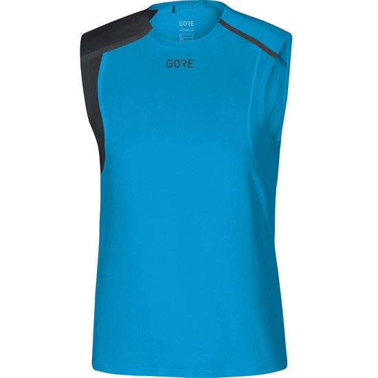 Gore Running Wear Gore R7 S/L Shirt - Dynamic Cyan/Black