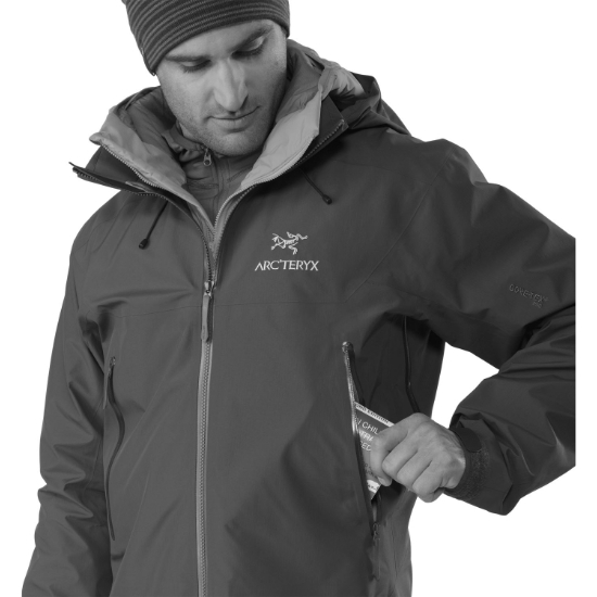 Arc'teryx Beta AR Jacket - Foto de detalle