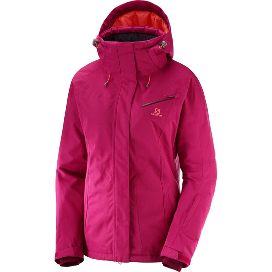 Salomon Fantasy Jacket W - Cerise Heather