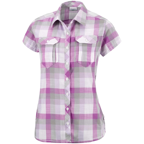 Columbia Camp Henry Shirt W - Bright Lavender