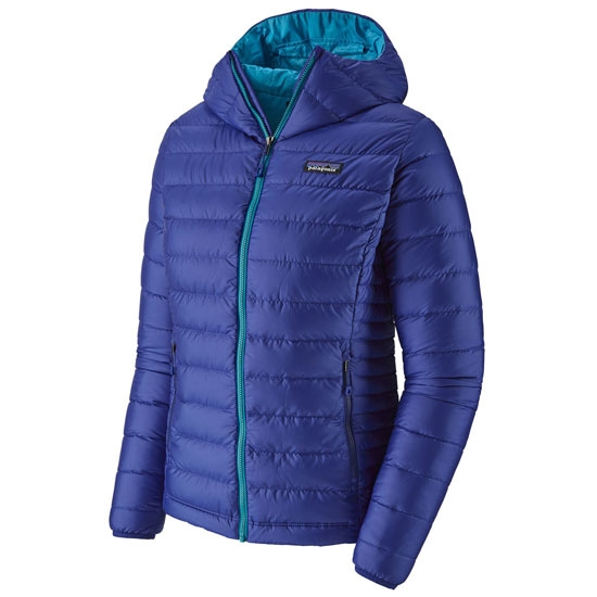 Patagonia Down Sweater Hoody W - Cobalt Blue