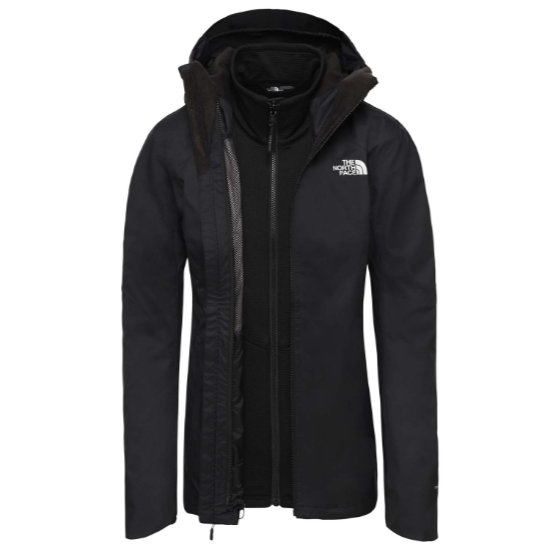 The North Face Quest Triclimate W - Black/Black