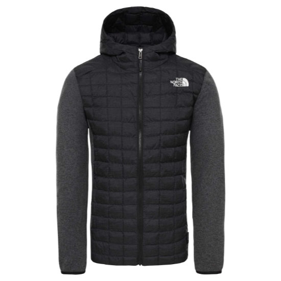 The North Face Thermoball Gordon Lyons Hoodie - TNF Black/Grey