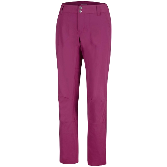 Columbia Saturday Trail Pant W - Wine Berry