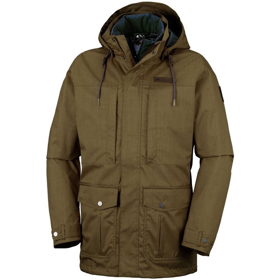 Columbia Horizons Pine Interchange Jacket - Olive Green