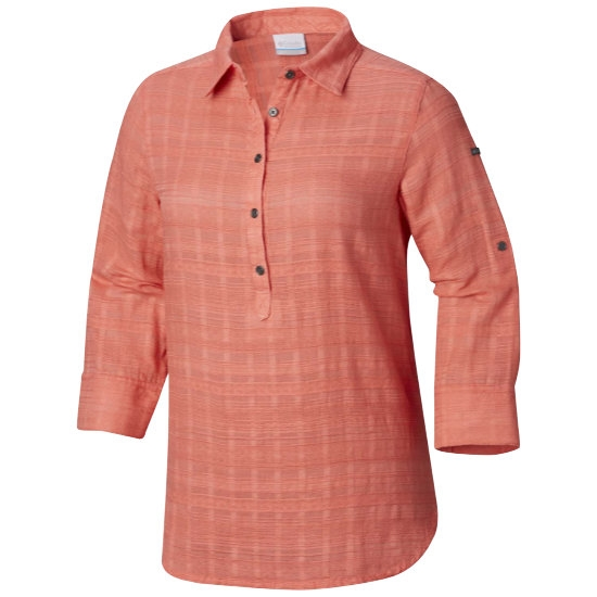 Columbia Summer Ease Popover Tunic W - Coral Bloom