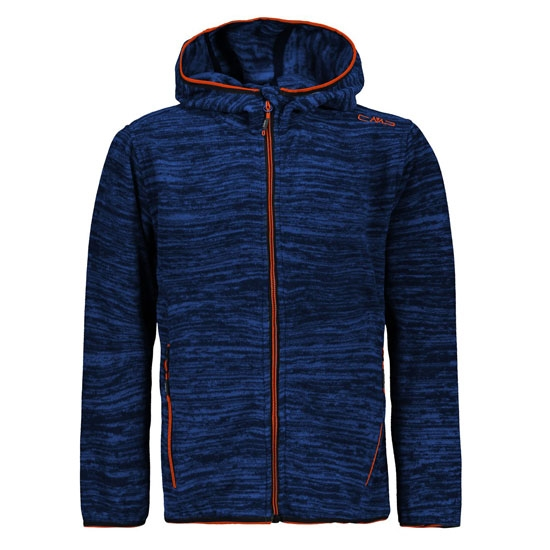 Campagnolo Jacquard Light Fix Hood Boy - Royal Melange