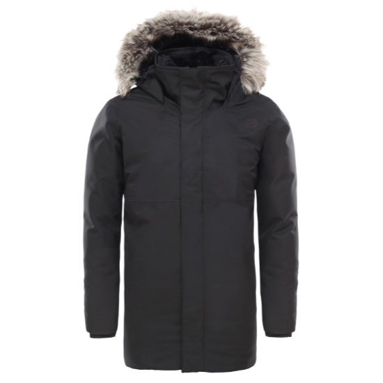 The North Face Arctic Swirl Down Jacket Girl - Black