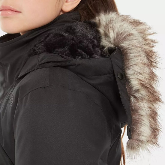 The North Face Arctic Swirl Down Jacket Girl - Foto de detalle