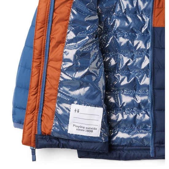 Columbia Powder Lite Hooded Boys - Foto de detalle