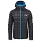 The North Face Kabru Hooded Down Jacket - Black/Acoustic Blue