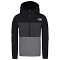 The North Face Slaker ¼ Zip Boy - Black