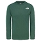 The North Face Reaxion Tee Boy - Night Green Heather