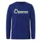 The North Face On Mountain LS Tee Boy - Bolt Blue