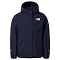 The North Face Resolve Reflective Jacket Girl - TNF Navy
