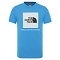 The North Face Box T-shirt Youth - Clear Lake Blue