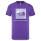 The North Face Box T-shirt Youth - Peak Purple